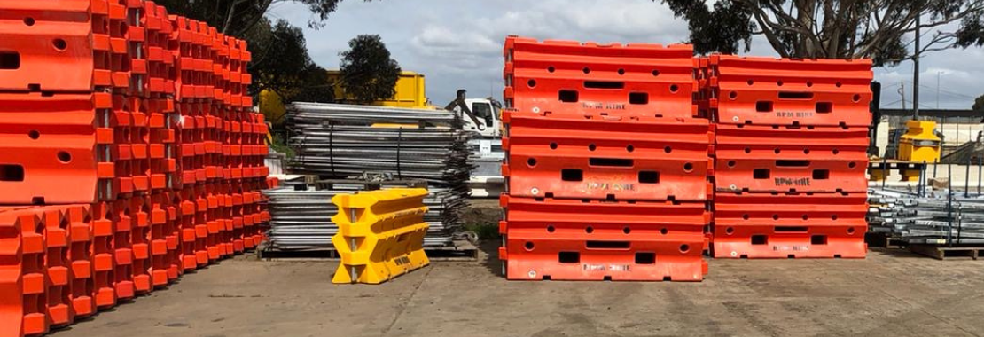 RPM Hire -Road Safety Barrier