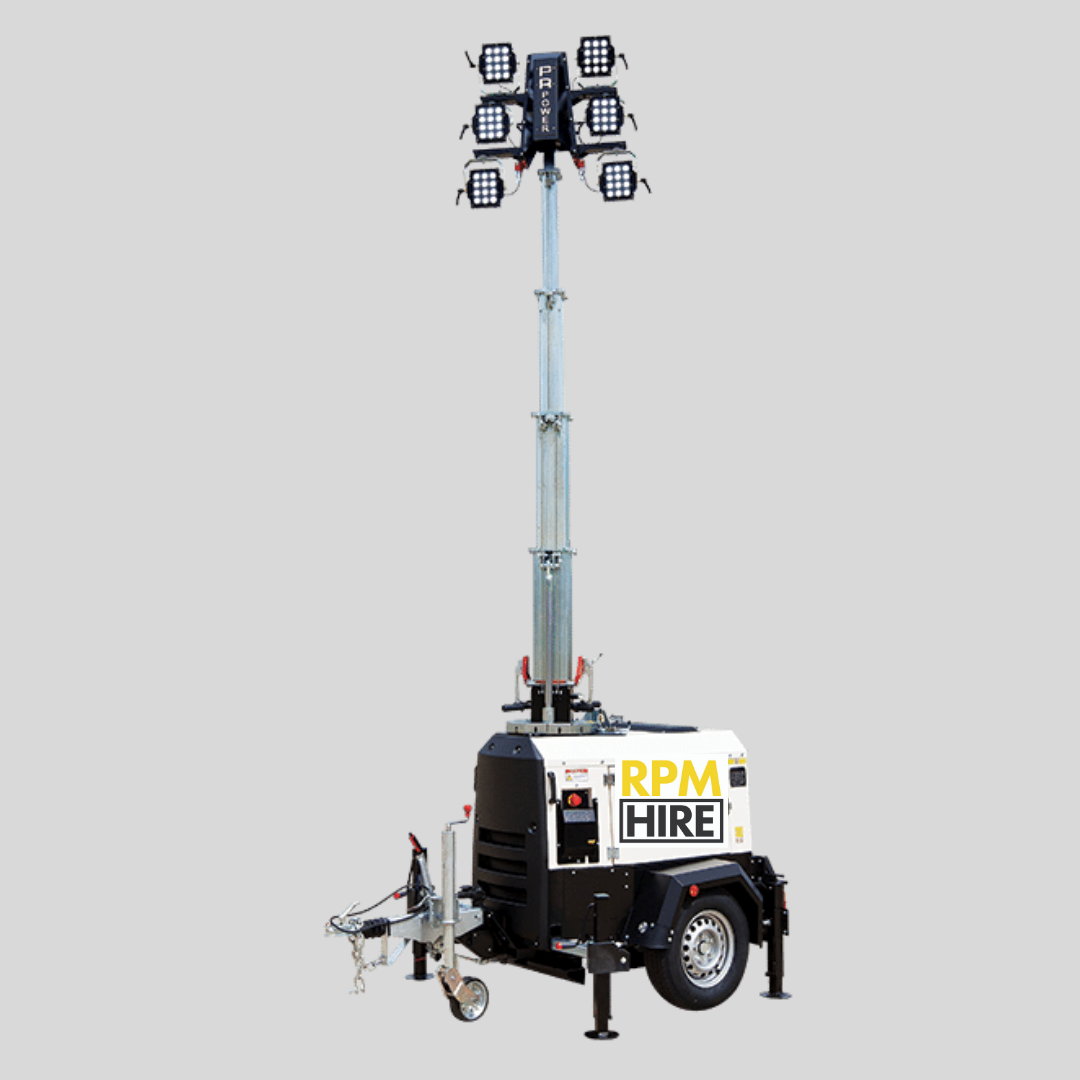 Portable Lighting Tower RPM Hire