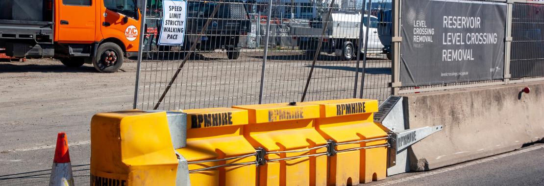 RPM Hire Concrete barriers