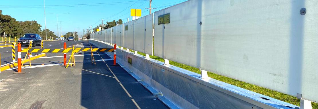 The Highway Guard Steel barrier