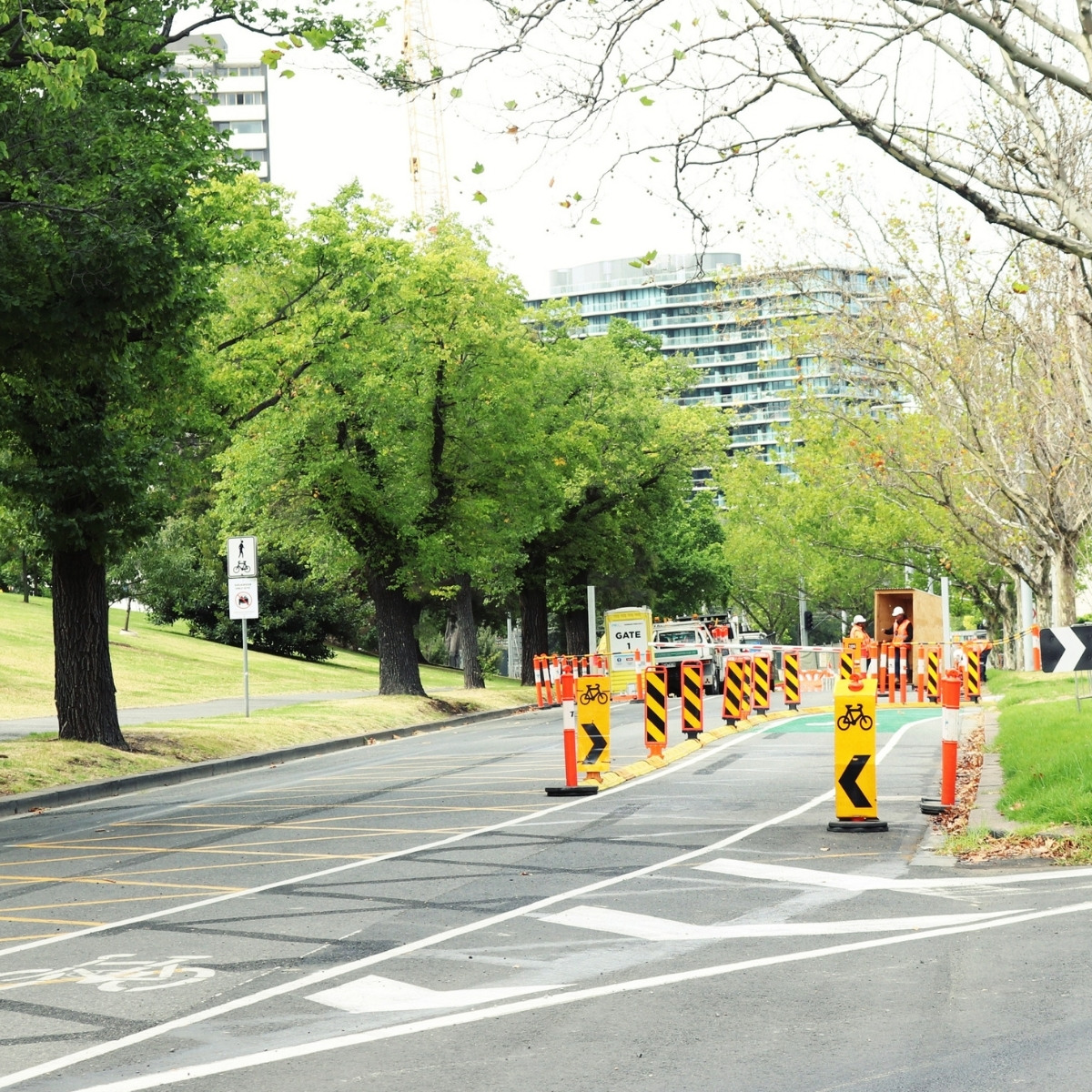 Klemmfix barrier traffic management