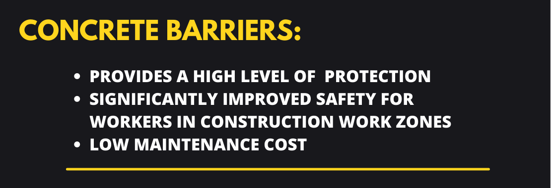 Concrete Barriers summary