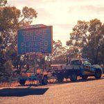 Variable Message Sign – Bridge closure Sydney